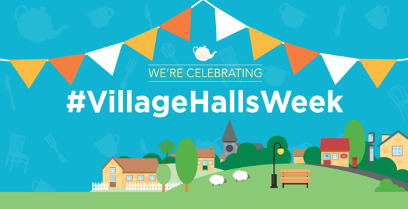 Book now for our #villagehallsweek event  featured image