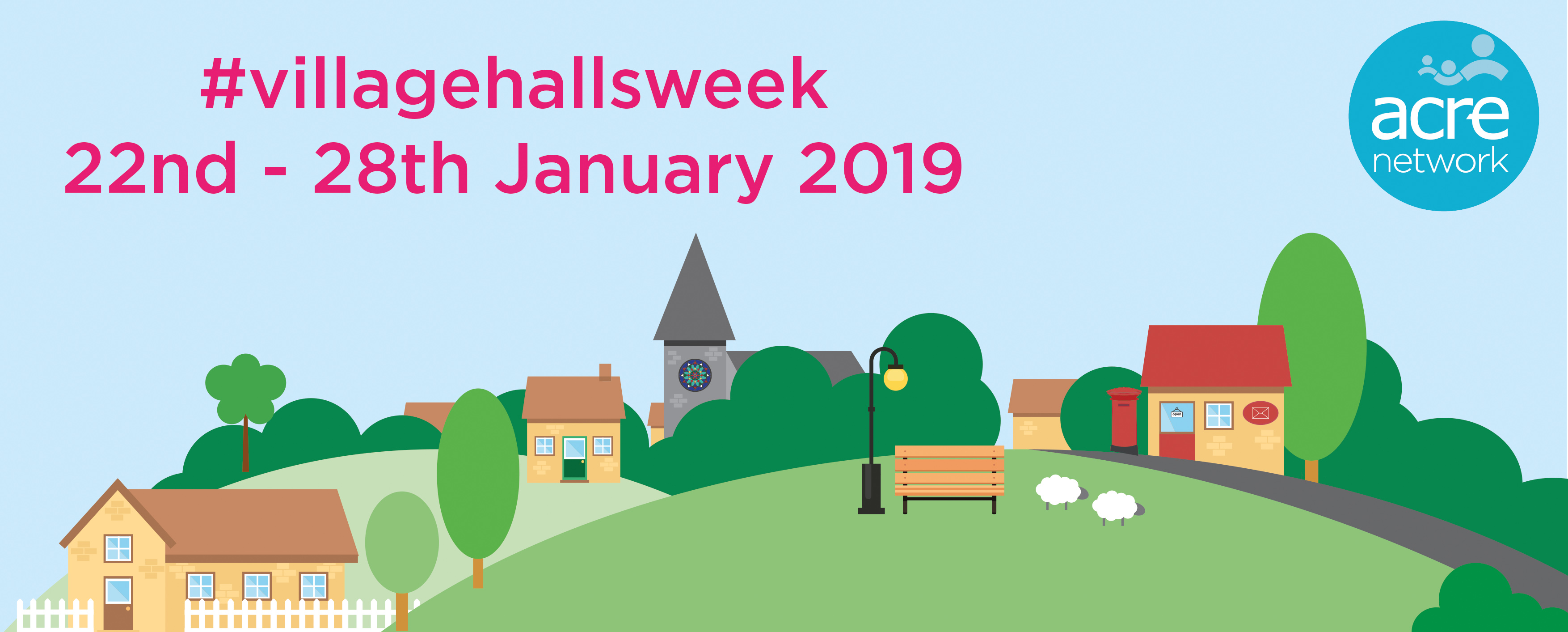 Events planned across county for #VillageHallsWeek featured image