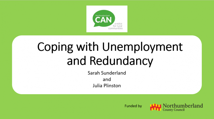 Free employability webinars for unemployed Northumberland residents