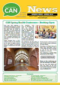 Spring edition of CAN Newsletter out now