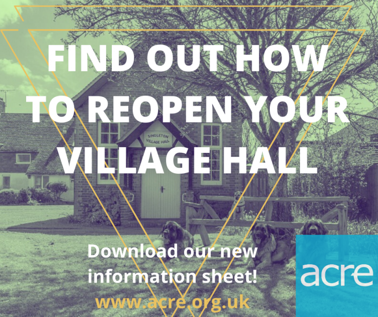 Guidance published on reopening of village halls