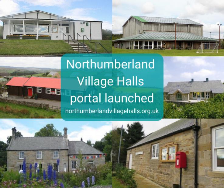 Northumberland village halls portal launched